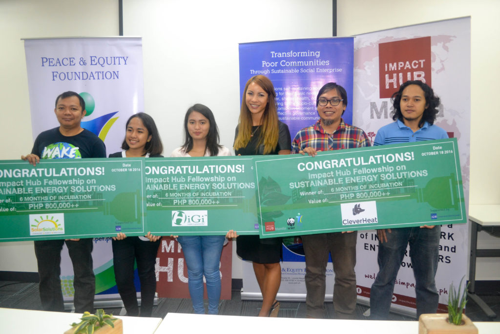 SolarSolutions Wins Fellowship Program With Impact Hub Manila