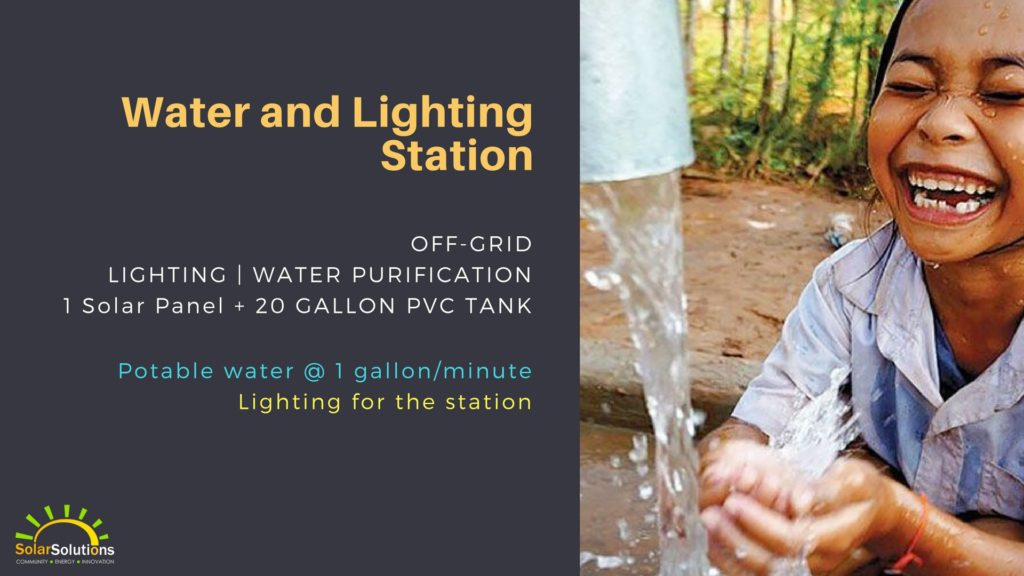 Water and Lighting Station
